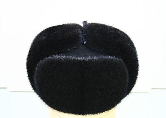 Норковая шапка мужская новая