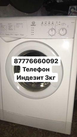 Продам машинку индезит 3кг