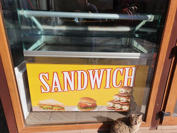 Vitrina frigorifica orizontala Sandwich inghetata prajituri