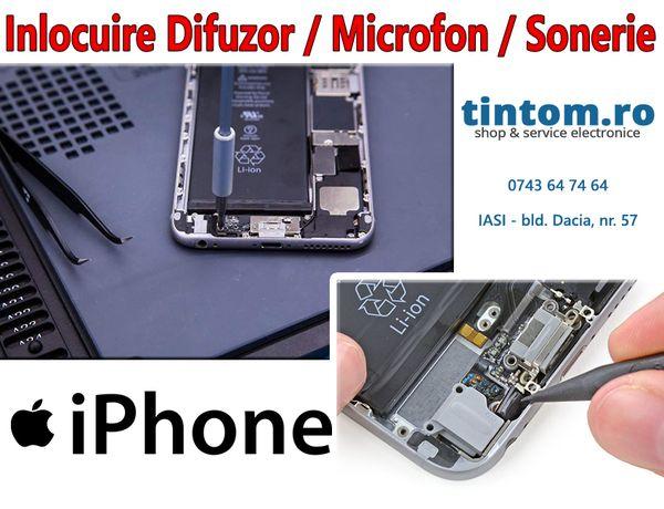 Inlocuire Difuzor - Microfon - Sonerie pentru orice model de IPHONE