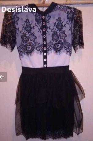 Черно-бяла рокля