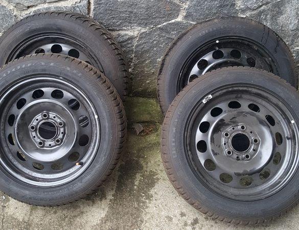 Джанти с гуми за бмв 195 55 16