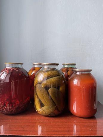 Продаю помидоры, огурцы, компоты