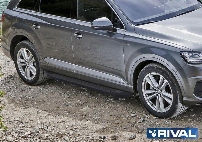 Пороги на Audi Q7 2017+