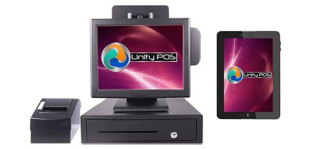 Pachet POS Gestiune+Vanzare: PC+touchscreen+soft UnityPOS Restaurant