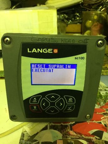 Hach Lange SC100 Controler for LDO, ph, ORP; Solitax,