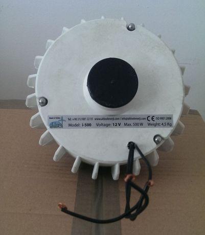Generator pmg (magneti) Ista Breeze 500W + controler Ista Breeze 650W