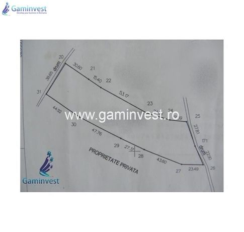 GAMINVEST - De vanzare teren extravilan in Saldabagiu, Bihor V1066
