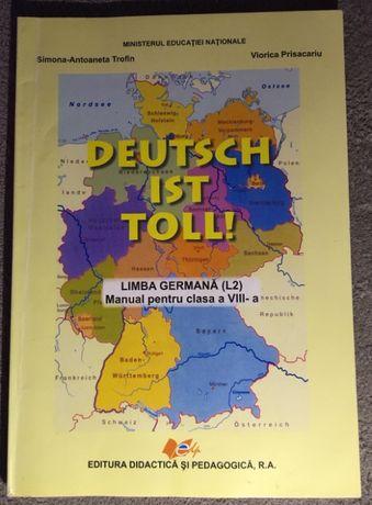 Limba germana L2, manual pentru clasa a VIII-a, autor Simona Trofin