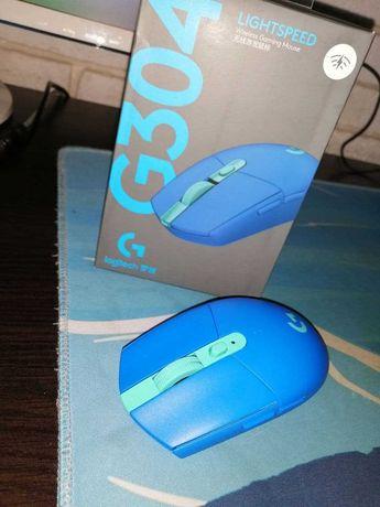 Продам беспроводная мышь Logitech g305(304) Blue