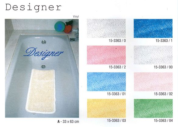 ПВЦ килимче за вана с вендузи 33СМХ65СМ - Разпродажба