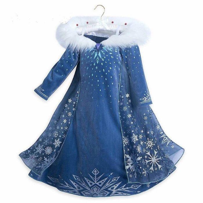 Rochie rochita printesa Elsa Frozen NOUA(cu eticheta) 3/4/5/6 ani Bucuresti - imagine 1