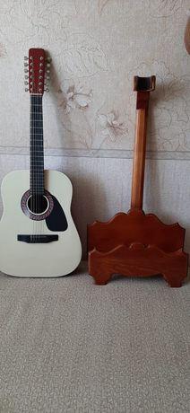 Подставка под гитару ручной работы