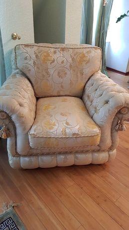 Комплект диван и 2 кресла ZANABONI - най-висок клас италиански мебели