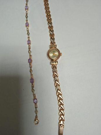 Часы браслет  бриллиантовые