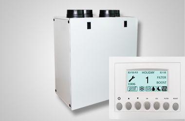 Recuperator de caldura Aerauliqa QR280 Centrala ventilatie si montaj