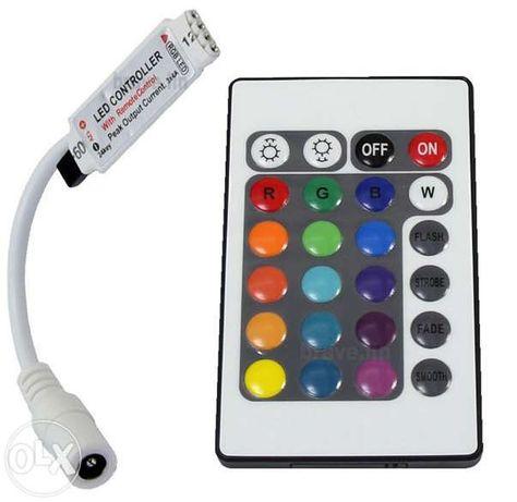 Контролер за LED Rgb лента с дистанционно управление , ЛЕД контролери