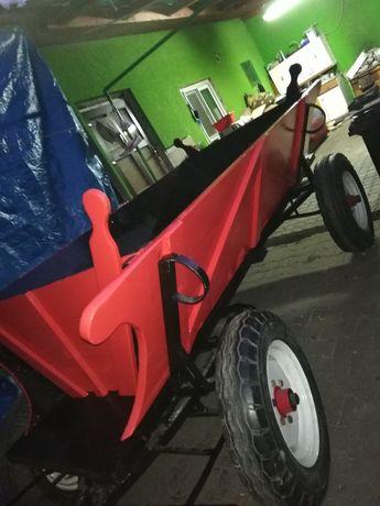 Vând căruță după tractor sau jeep