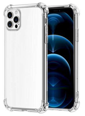 Силиконов прозрачен кейс за iPhone 12 12pro 12Pro Max 12 Mini Appl