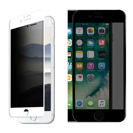 Folie Sticla Curbata 6D 11D PRIVACY - Iphone 7 7 PLUS 8 8 PLUS SE 2020