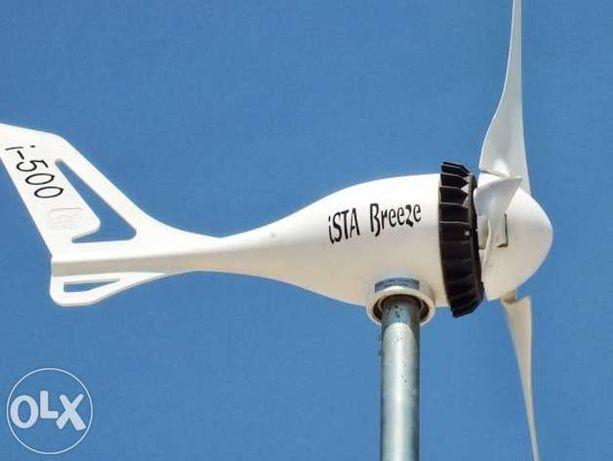 Turbina eoliana 12V-500W Ista Breeze cu REGULATOR, generator eolian