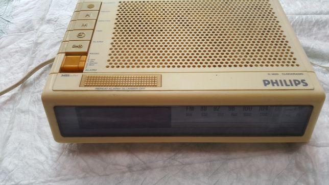 Radioclock Philips D 3620 vintage