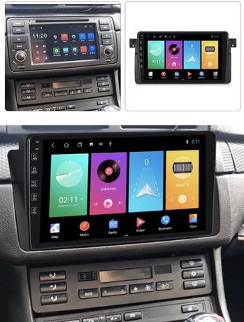 Navigație 9 inch + Camera, Slot SIM GPS Android 10, Bmw E46 2 GB RAM