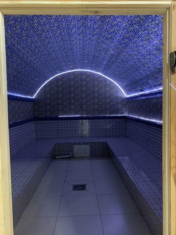 Новая общественная баня и сауны