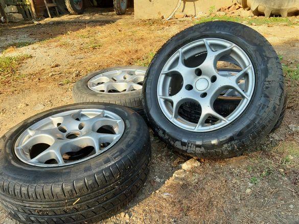 Алуминиеви Джанти със гуми