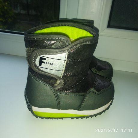 Зимняя обувь как для девочек так и для мальчиков
