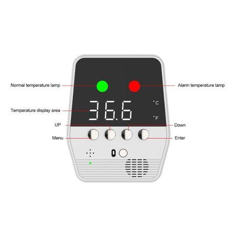 Безконтактен интелигентен инфрачервен термометър - НОВ!