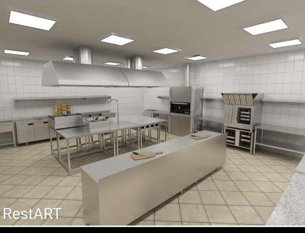 Комплексное оснащение ресторанов оборудованием и проектирование