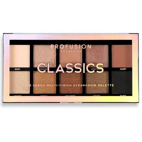 палитра за очи Profusion Classics 10 Shade Multi-Finish