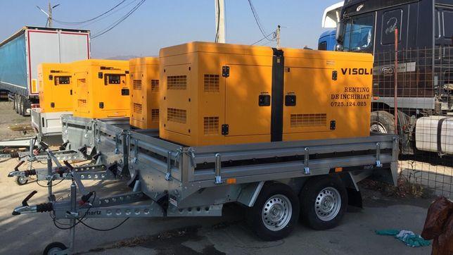 Inchiriere/Inchiriez Generator Curent Electric 30-100kva