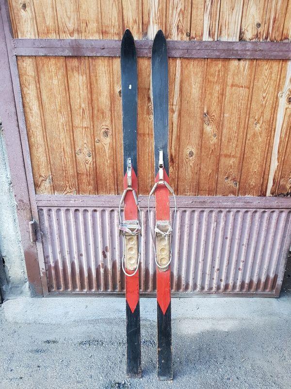 Ретро дървени ски Нarvey Е.Dodds Limites в много добро състояние гр. София - image 1