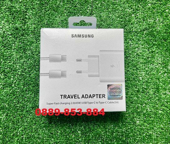 Super Fast Charge Бързо зарядно адаптер Samsung S10 S20 S21 Note 20 10