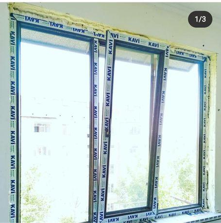 Пластиковые окна двери витражи. Тёплая серия, фасад