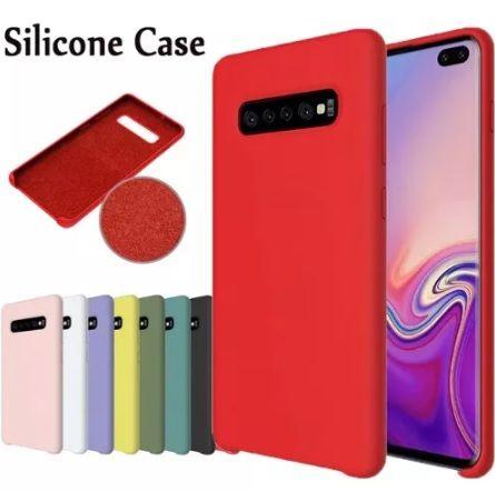 Husa Samsung Galaxy S10 Plus,S10, S10e Silicon Luxury