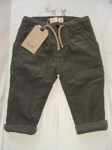 Ново!Бебешки джинсов панталон Zara