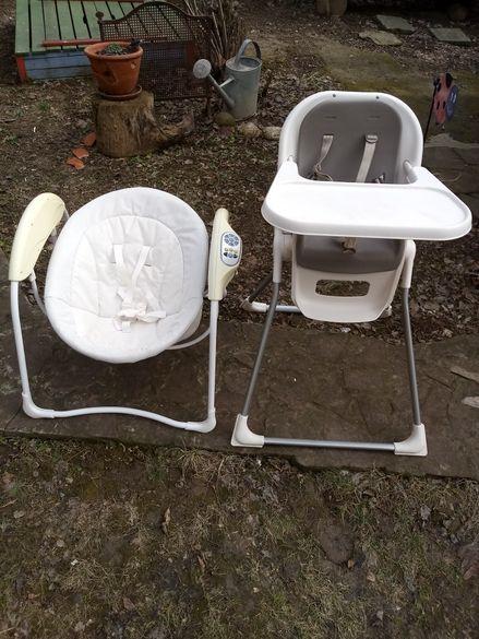 Столче и люлка за бебе