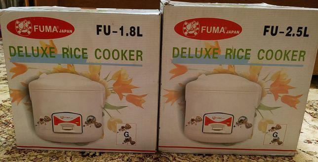 Рисоварка Fuma 2,5 л и 1,8 л, новые, Япония