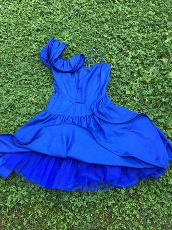 Rochie albastru electric