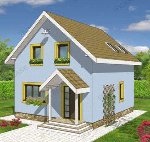 Super oferta la casele Pe structuri din lemn și metal