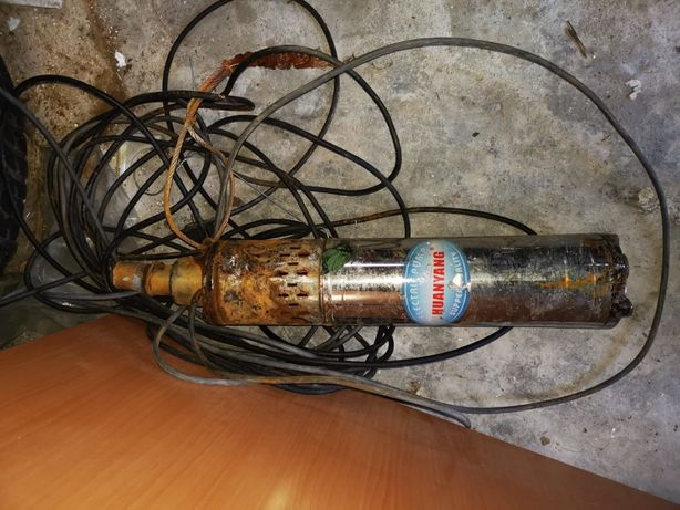 pompa submersibila apa curata si  pompa hidrofor cu defecte