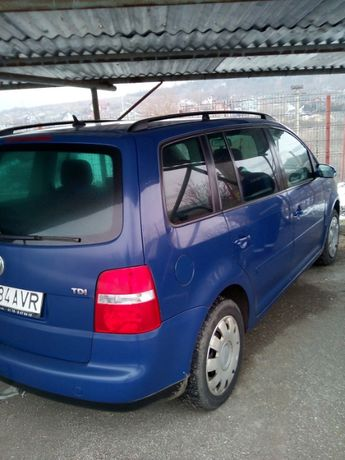 VW TOURAN 1.9TDI 74kw/101cai euro 4 an 2004/7 inmatriculat