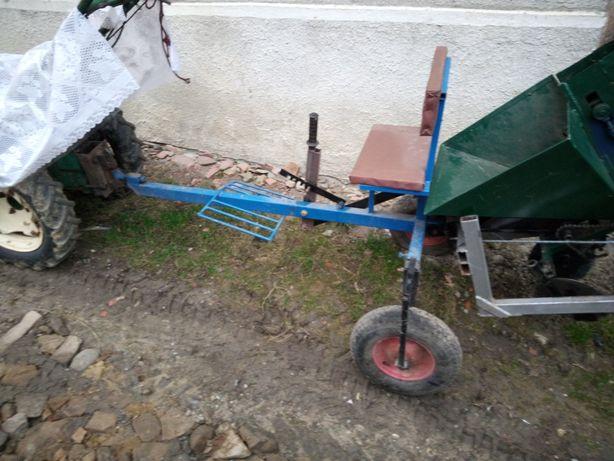 Carucior pentru motocultor (scaun)