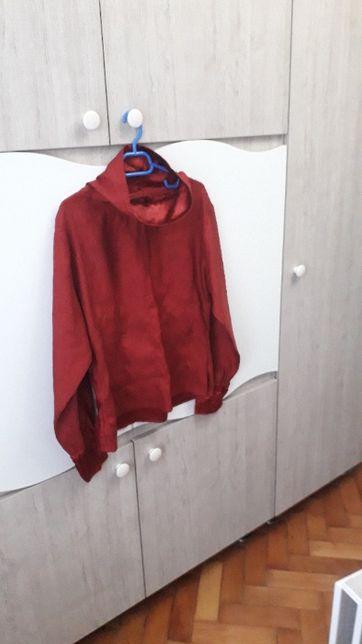 Bluza eleganta de matase artificiala