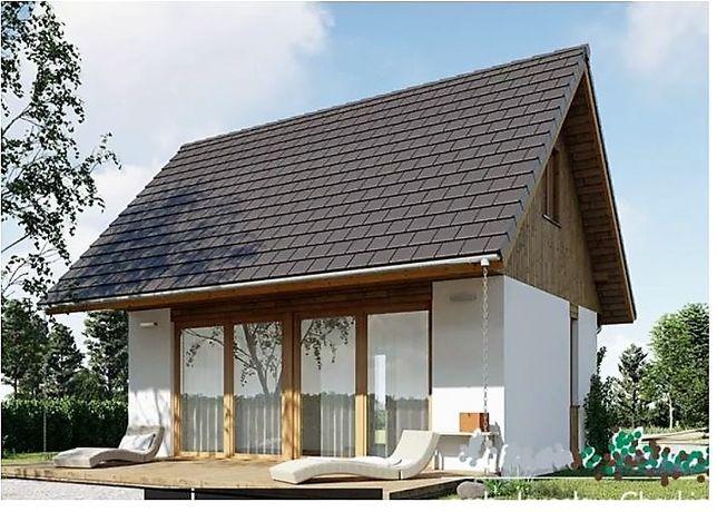 Kit casa lemn 70mp