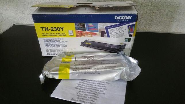 Cartus- toner -original- Brother - TN230Y - galben - yellow-imprimanta