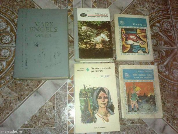Diferite carti vechi Eminescu,Sadoveanu,Arghezi etc